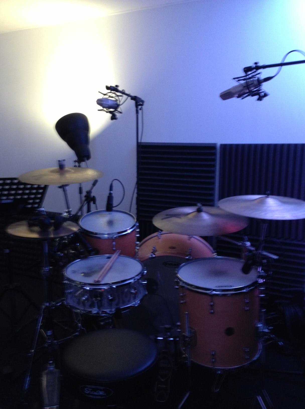 Work in Progress in de studio